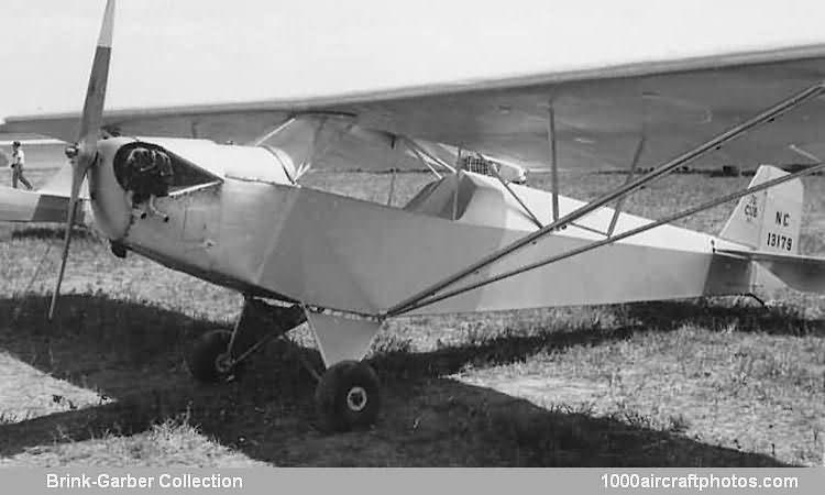 Taylor E 2 Cub