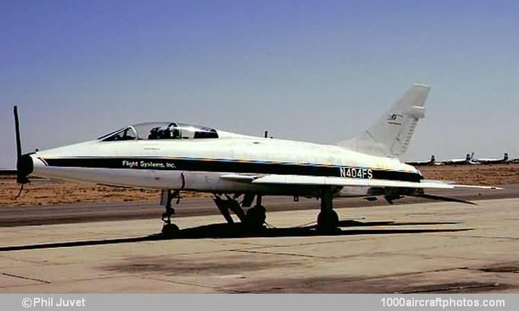 North American Na 243 F 100f Super Sabre