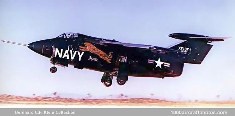 Grumman G 83 Xf10f 1 Jaguar