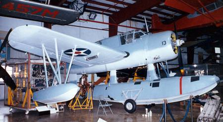 Vought-Sikorsky VS-310 OS2U-3 Kingfisher