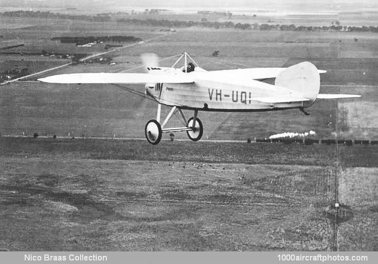 Bristol 20 M 1c Monoplane Scout
